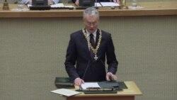 В Литве принес присягу новый президент Гитанас Науседа