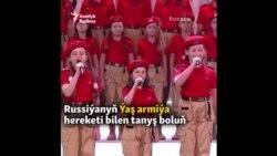 Putiniň Ýaş armiýasy bilen tanyş boluň