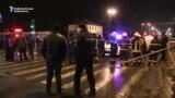Man 'Armed With Explosives' Barricaded Inside Kharkiv Post Office