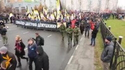 OZOD-VIDEO: Москвада рус миллатчиларининг марши бўлиб ўтди
