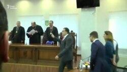 Апеляційний суд призначив Саакашвілі нічний домашній арешт (відео)