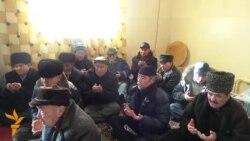 Поминки по жертвам событий в Жанаозене