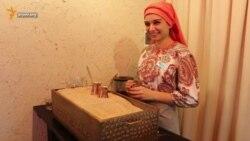 Lviv merkezinde qırımtatar qavesi (video)