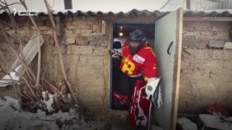 'We Never Give Up' - Meet Kyrgyzstan's First Female Ice Hockey Team