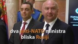 Sede u Vladi Srbije, ne podnose NATO