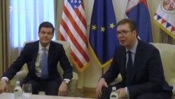 Mičel i Vučić: Srbija i Kosovo da primene dogovoreno