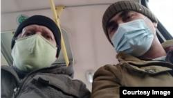 Магомед Аламов и Константин Гусев
