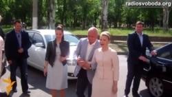 Юлія Тимошенко проголосувала в Дніпропетровську