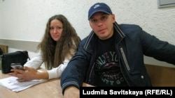 Lia Milushkina and her husband, Artyom Milushkin