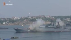День ВМФ России в Севастополе: туристы недовольны (видео)