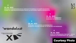 Плакатот за 13. Биенале на млади уметници