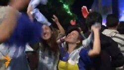 Радость аргентинских фанатов