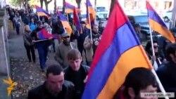 «Նոր Հայաստան»-ը հանրահավաք և իրազեկման երթ անցկացրեց Վանաձորում