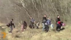 Kosovar Migrants, Fleeing Poverty, Stream Into Hungary