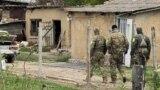 Обыск в селе Заветное в Крыму, 11 мая 2021 года
