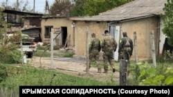 Обшук у селі Завітне в Криму, 11 травня 2021 року