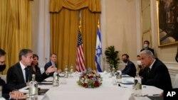 ԱՄՆ պետքարտուղարի և Իսրայելի արտգործնախարարի բանակցությունները Հռոմում, 27-ը հունիսի, 2021թ.