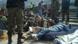 Sarajevo: Protest penzionisanih vojnika OSBiH