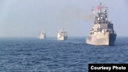 Қара теңіздегі НАТО кемелері.