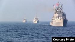 Корабли НАТО в Черном море.