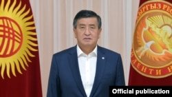 Gyrgyz prezidenti Sooronbaý Jeenbekow