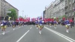Первомайское шествие в Киеве