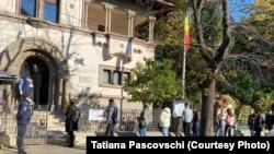 Votul la Ambasada R. Moldova din București