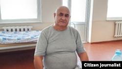 """Adabiyot"""" gazetasining Bosh muharriri Baxtiyor Karim suvli ochlik e'lon qildi. Toshkent, 2-Tibbiyot akademiyasi, 2020, 16 iyul"""
