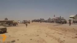 Иракские военные бегут из Мосула