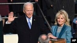 20 січня Джо Байден склав присягу як 46-й президент Сполучених Штатів