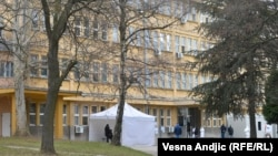 Beograd, testiranje na COVID-19, 24. decembar, 2020.