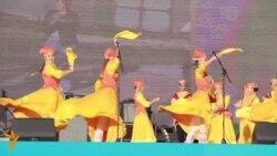 """Казанның FINA паркында """"Сабантуй бизәкләре"""" фестивале үтте"""